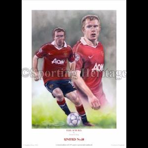 Paul Scholes - United No.18