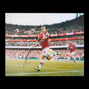 Jack Wilshere Personally Signed Arsenal Photo 16x20 - Wonder Goal vs Norwich City