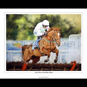Annie Power and Ruby Walsh