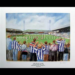 The last match Huddersfield Town