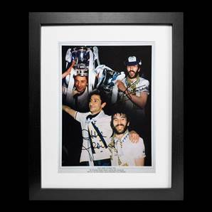 Ricky Villa And Ossie Ardiles Personally Signed Tottenham Hotspur Photo - 1981 FA Cup, Framed