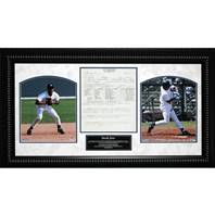 Derek Jeter Scouting Report 14x26 Framed Collage