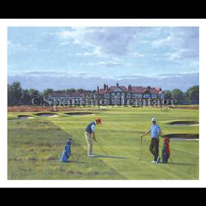 18th At Royal Lytham And St. Annes