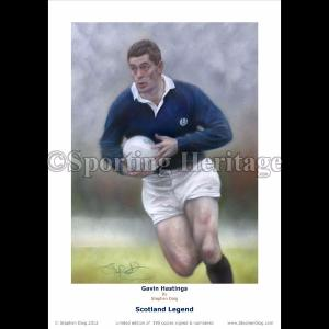 Gavin Hastings - Scotland Legend