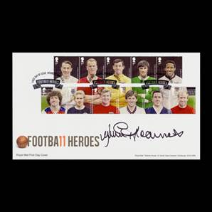 Football Heroes 2013 Stamps Royal Mail First Day Cover Personally Signed By Jimmy Greaves