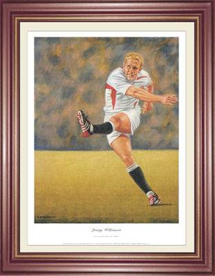 Jonny Wilkinson by Peter Deighan