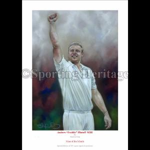 Andrew ''Freddie'' Flintoff MBE - Man of the Match