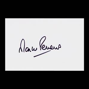 Martin Peters Personally Signed White Card - 6 x 4 Inch