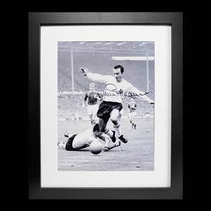 Jimmy Greaves Personally Signed & Framed Photo - England