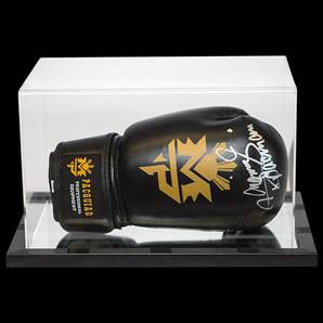Manny Pacquiao Signed Boxing Glove - In Acrylic Display Case