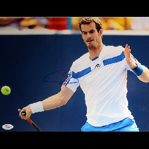 Andy Murray Signed One Handed Forehand Swing Horizontal 11x14 Photo (JSA)