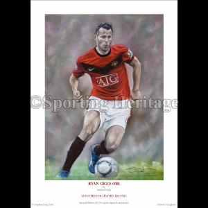 Ryan Giggs OBE - Manchester United Legend
